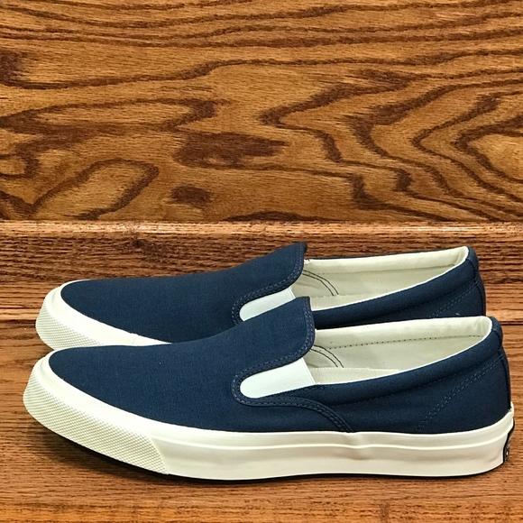 1b8a3f26cff7d7 Converse Deck Star 67 Slip Navy White Shoes